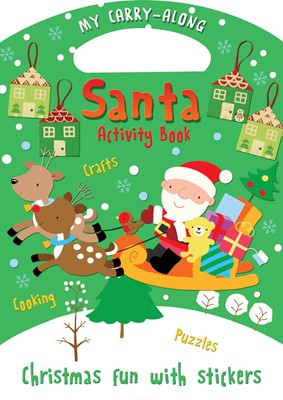 My Carry-Along Santa Activity Book (Novelty Book)