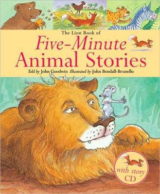 The Lion Book Of Five-Minute Animal Stories (Mixed Media Product)