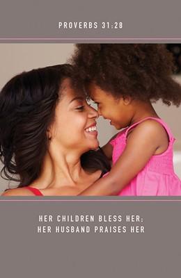 Bless Her Mother's Day Bulletin (Pkg of 50) (Bulletin)