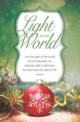 Light Of The World Bulletin (Pack of 100) (Bulletin)