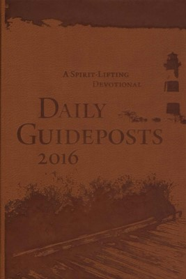 Daily Guideposts 2016 (Leather-Look)