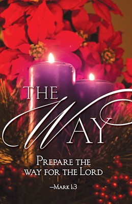 The Way Advent Candle Sunday 2 Bulletin (Pkg of 50) (Loose-leaf)