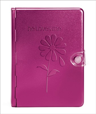 NLT Metal Bible: He Loves Me (Other Book Format)