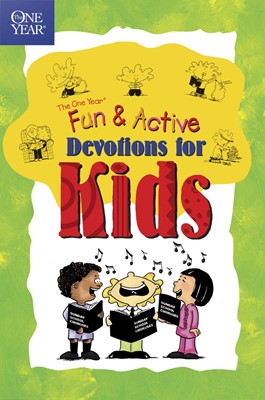The One Year Fun & Active Devotions For Kids (Paperback)