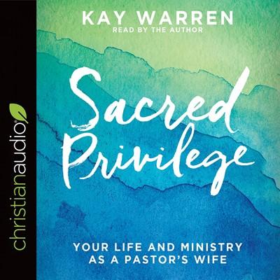 Sacred Privilege Audio Book (CD-Audio)