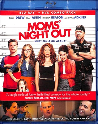 Moms' Night Out BluRay DVD