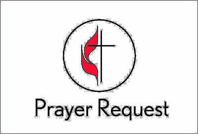 United Methodist Prayer Request Card (Pkg of 25) (Cards)