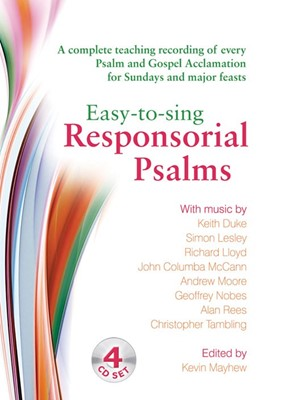 Easy-To-Sing Responsorial Psalms CD (CD-Audio)