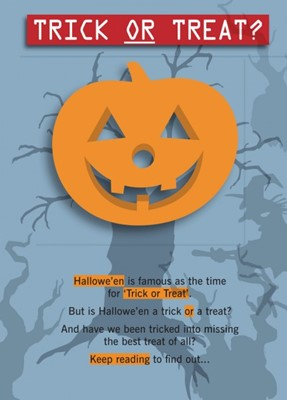 Trick Or Treat? Single Copy (Tracts)