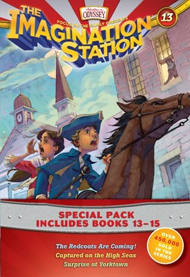 Imagination Station Books 3-Pack: The Redcoats Are Coming! / (Paperback)