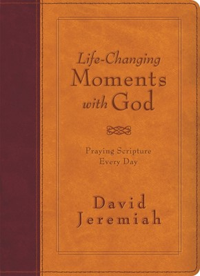 Life-Changing Moments With God (Leather-Look)