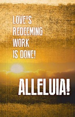 Alleluia! Easter Images Bulletin (Pkg of 50) (Loose-leaf)