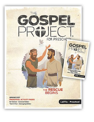Rescue Begins, The: Preschool Activity Pack Spring 2017 (Paperback)