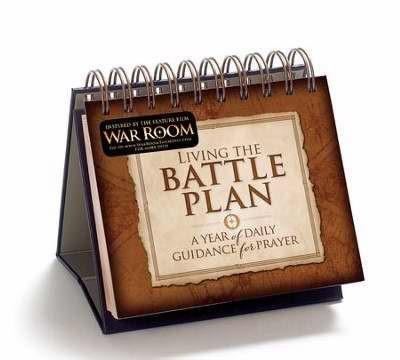 Living the Battle Plan Flip Calendar (Calendar)