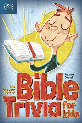 The One Year Book Of Bible Trivia For Kids (Paperback)