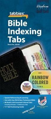 Bible Index Tabs Rainbow (Child) (Tabbies)