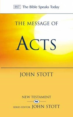 The BST Message of Acts (Paperback)