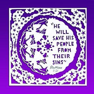 He Will Save His People Pack of 6 (Cards)