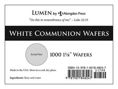 Communion Wafers, White (Box of 1000) (General Merchandise)
