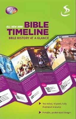 Mini Bible Timeline [10 Pack] (Multiple Copy Pack)