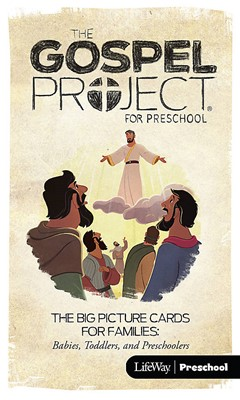 Gospel Project For Preschool: Big Picture Cards, Fall 2017 (Cards)