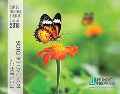 Calendario 2018 Fidelidad y bondad de Dios (fotos) (Calendar)