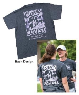 Cave Quest Staff T-Shirt Large (General Merchandise)
