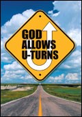 God Allows U-Turns (Pack Of 25) (Tracts)