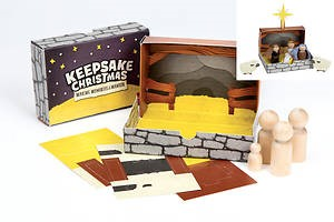 Keepsake Christmas: Make-A-Manger Set (Other Merchandise)