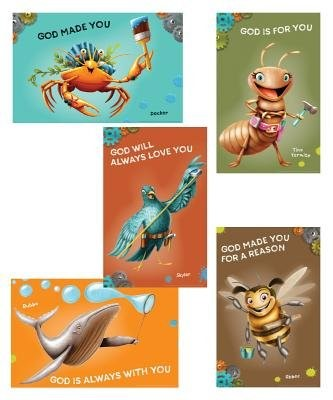 Maker Fun Factory Bible Point Posters (set of 6) (Poster)