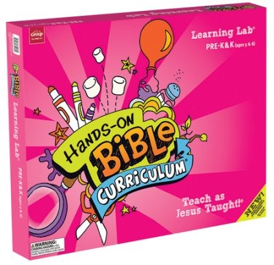 Hands-On Bible Curriculum Pre-K&K Learning Lab Spring17 (Mixed Media Product)