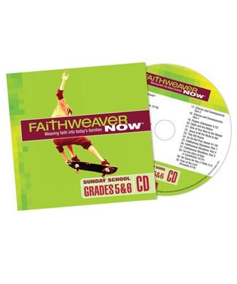 FaithWeaver Now Grades 5&6 CD Spring 2017 (CD-Audio)