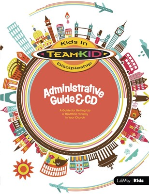 TeamKid Administrative Guide & CD (Hard Cover w/CD)