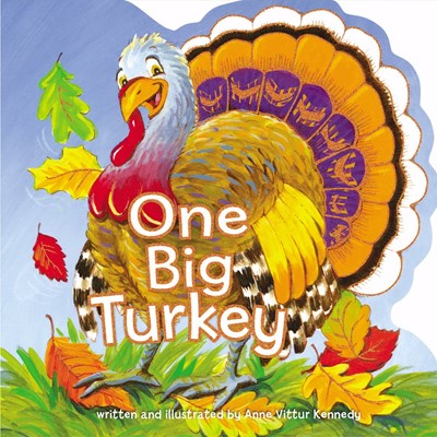 One Big Turkey (Board Book)