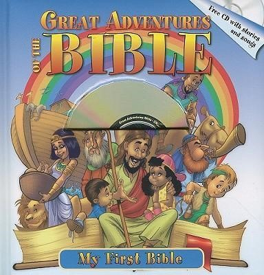 Great Adventures Of The Bible & CD With Stories And Songs (Hard Cover w/CD)
