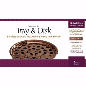 Bronze Tray And Disc (General Merchandise)