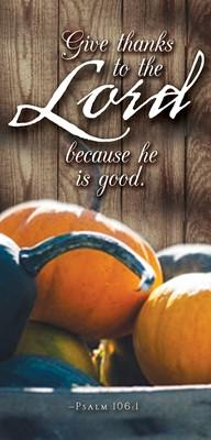 Give Thanks Thanksgiving Offering Envelope (Pkg of 50) (Loose-leaf)