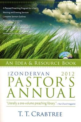 Zondervan Pastor's Annual 2012 (Paperback/CD Rom)