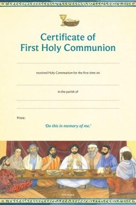 Cert of First Holy Comm CFHC