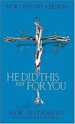 NCV He Did This For You New Testament (Paperback)
