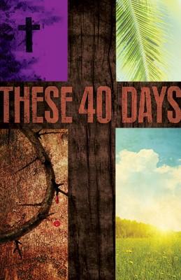 These 40 Days Images Lent Bulletin (Pkg of 50) (Bulletin)