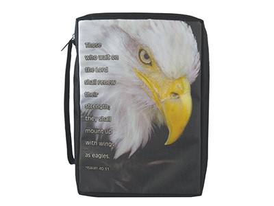 Bible Cover Eagle Lg