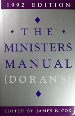 The Ministers Manual 1992 (Hard Cover)