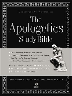 The Apologetics Study Bible (Bonded Leather)