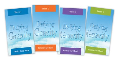 Defying Gravity Family Card Pack (Miscellaneous Print)