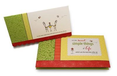 The Simple Joys: Notecard Folio (Miscellaneous Print)