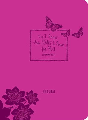 For I Know The Plans I Have For You- Journal (Leather Binding)