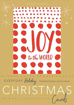 Joy To The World Boxed Christmas Cards (Cards)