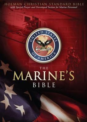 HCSB Marine's Bible (Bonded Leather)