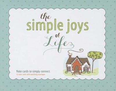The Simple Joys Of Life: Boxed Note Cards (Miscellaneous Print)